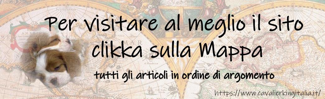 cavalier king italia mappa